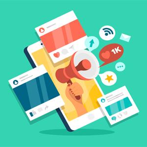 Marketing digital menu