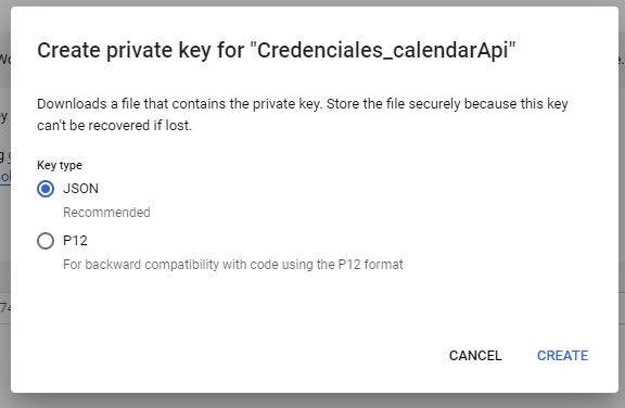 google_calendar_api_crear_clave_primaria